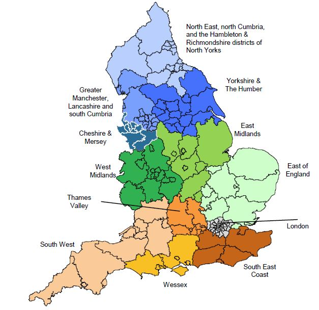 Details of plans for Clinical Senates, Specialised Commissioning and NHSCB Local Area Teams