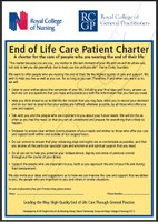 RCN & RCGP produce charter for End of Life care